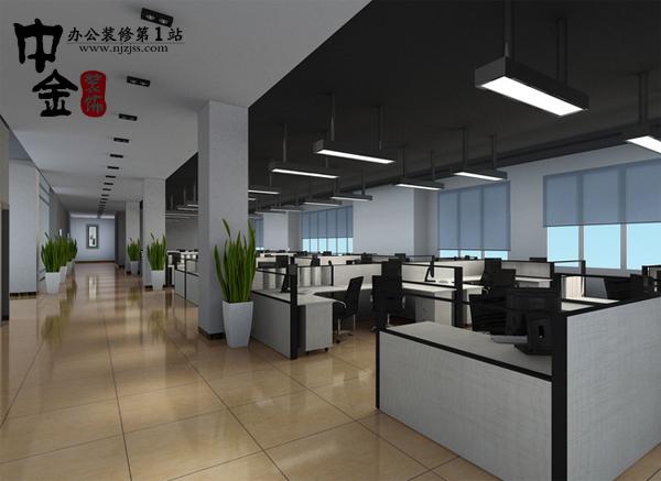 大型写字楼办公室装修案例
